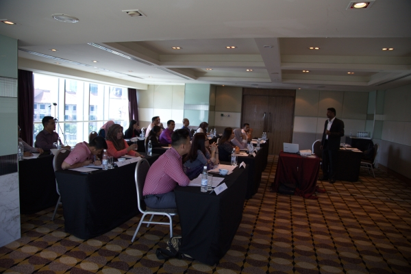 Structured Interviewing Workshop, Kuala Lumpur