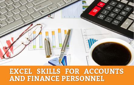 Excel Skills for Accounts and Finance (Kota Kinabalu)