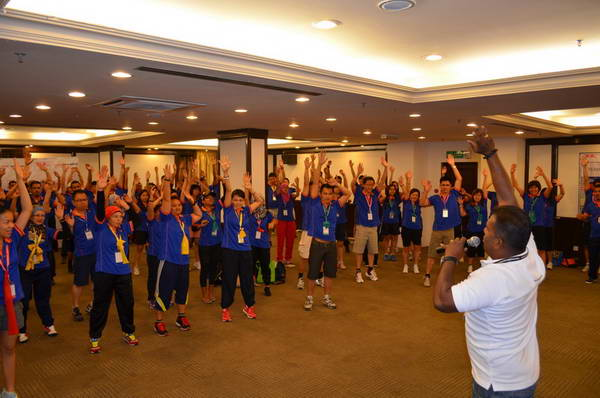 Team building Brunei 29 & 30 November